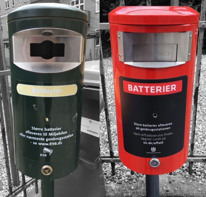 Affaldsservice batteri - a/b tjenestemændenes byggeforening